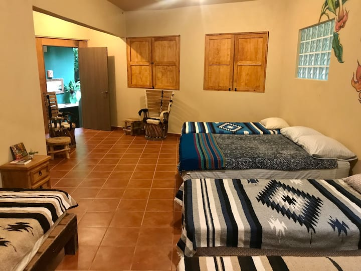 Las Tescalamas -  cozy & affordable jungle stays