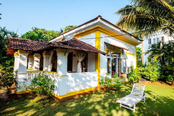 Casa Sio | 1 bhk Villa by Cavelossim beach
