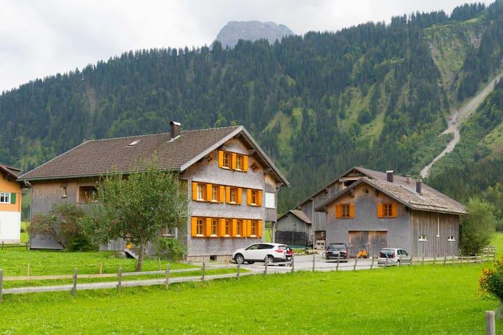 Ferienbauernhof - Appartement Obstgarten