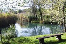 Badeplatz Fluss (Abfluss Faaker See)
