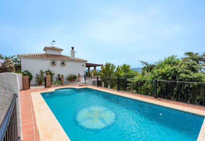 Preciosa casa rural en Málaga