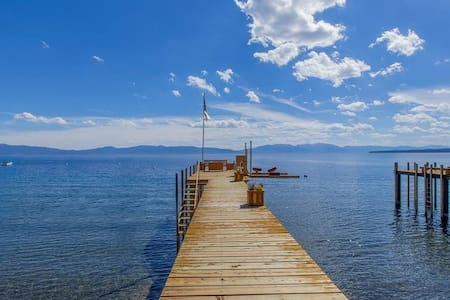 Camp Ta-gah-yin-ga - Lakefront - Tahoe City - House
