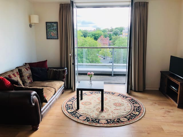 Unique wrap-around balcony flat in Wembley Park