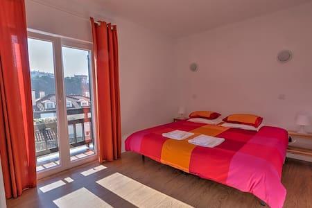 Room | Balcony Partial Sea View | Private bathroom - Sao Pedro de Moel - Bed & Breakfast