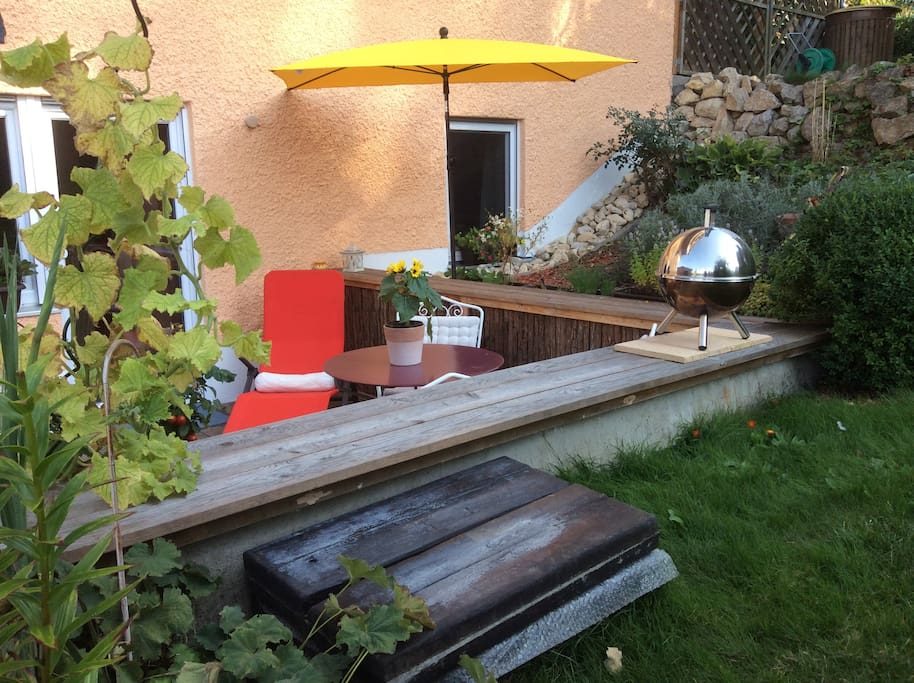 Relax on your terrasse in summer 2017