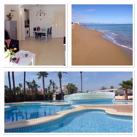 Appartement 80 plage sable - - Dénia - Flat