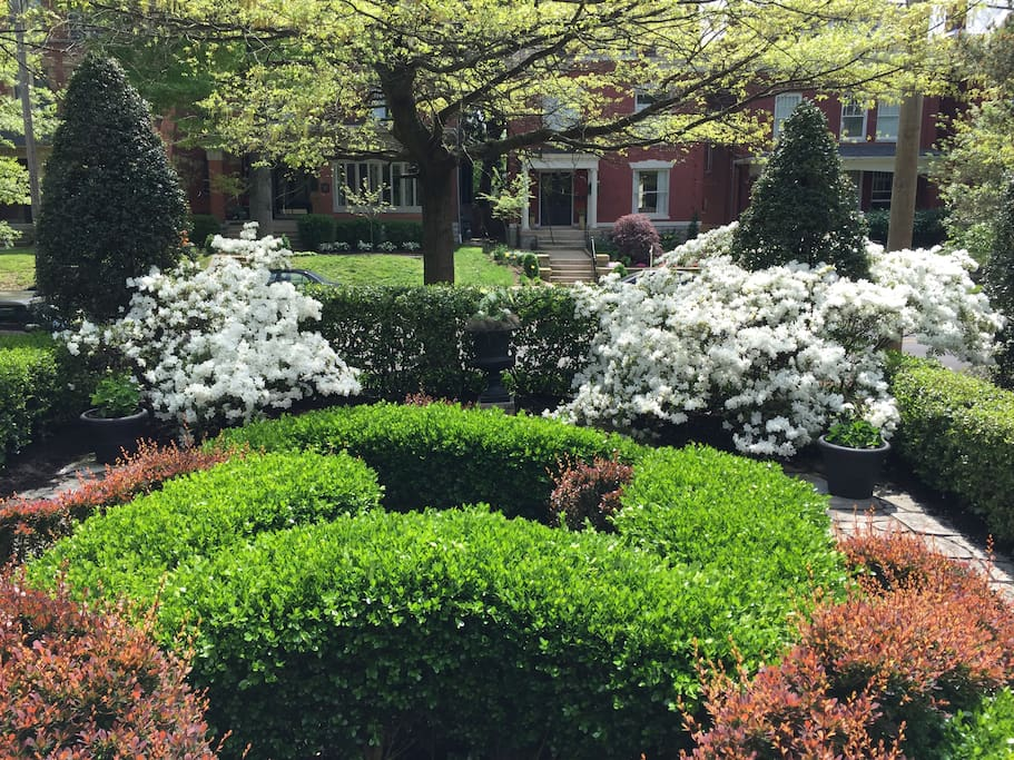 Front Garden (view from sun porch)