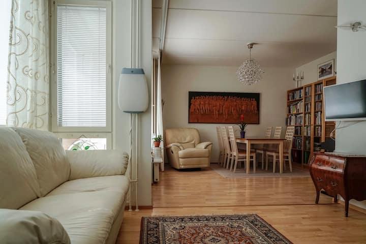A cozy home in Ruoholahti, Messitytönkatu 11 B