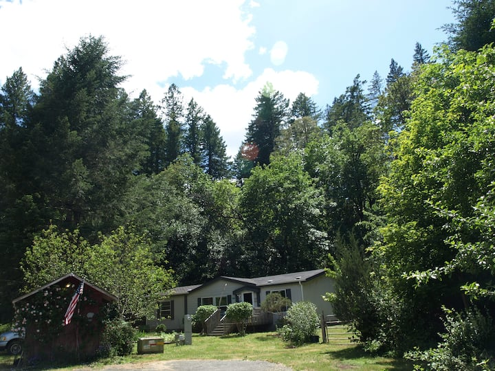 Mountain Views, 1 Ac Yard, River/Forest Close-By