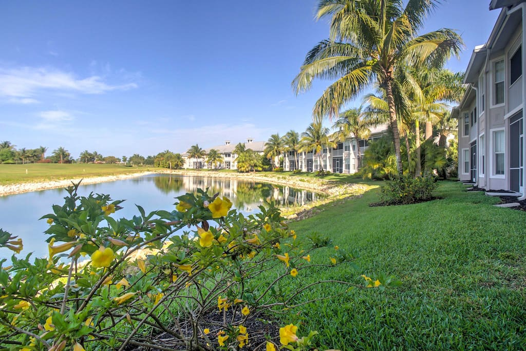 Escape the hustle and bustle of everyday life with this fantastic Naples condo.