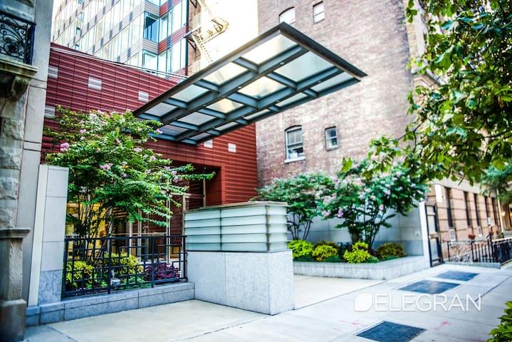 Mansion in the sky;  Upper West Side MANHATTAN