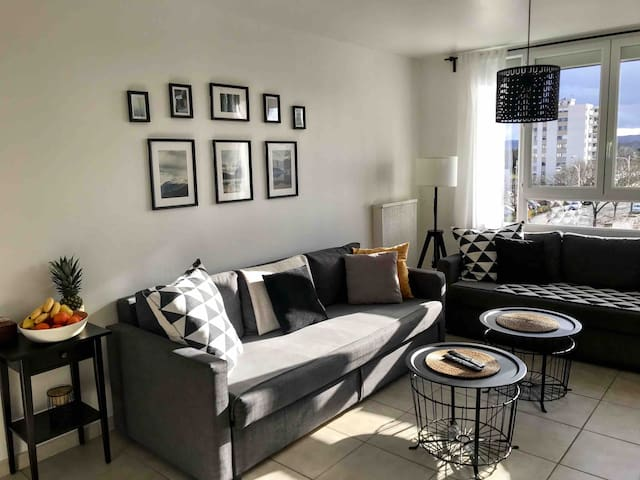 Apartment 16min from the centre of Lyon