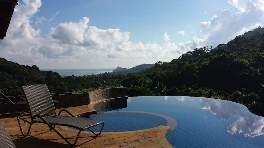 Hidden Paradise, Amazing Hill-Top View,  Koh Samui - Ko Samui - Villa