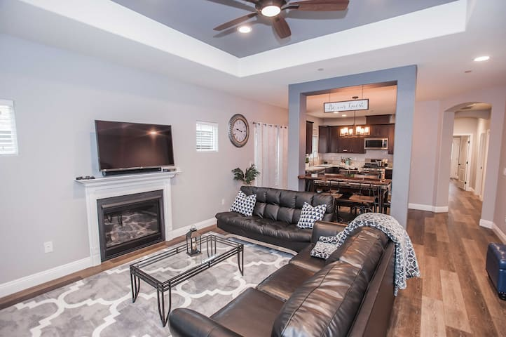 2018 built, Med Center home, minutes from downtown