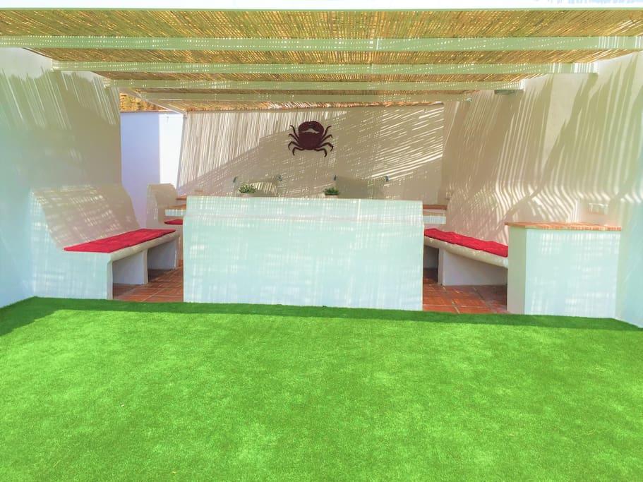 Cenador Casa 1