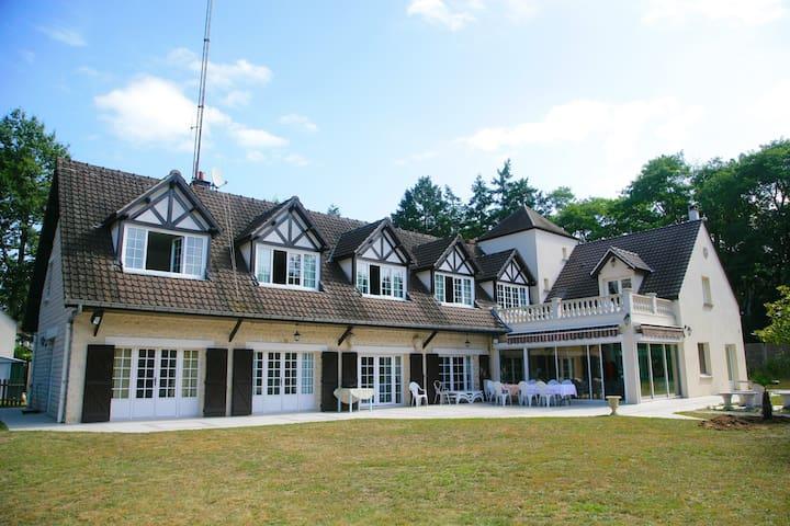 La Grande Vallée - Maison de charme - Fontaineblau - Bourron-Marlotte - Pis