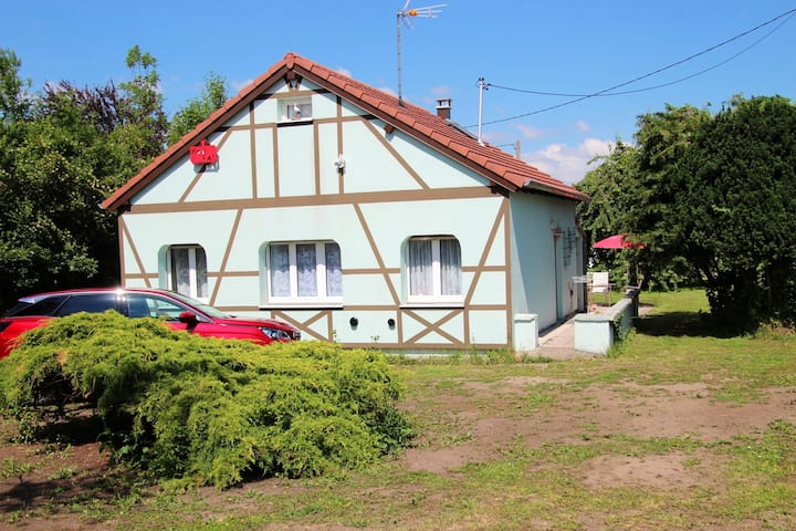 House with 2 bedrooms in Marmoutier, with terrace