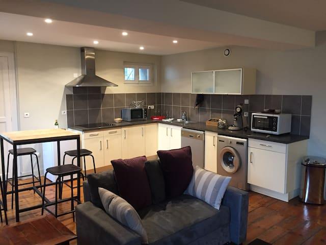 appartement cosy-hypercentre - Pau - Flat