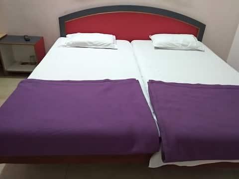 iROOMZ Sagar Deluxe, Luxury A/c Room