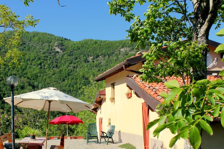 Renovated agritourism complex north of the ancient historic city of Lucca
