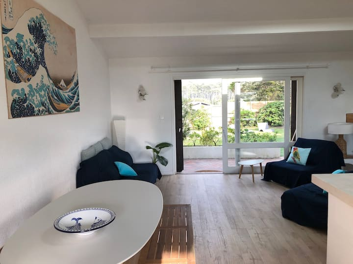 70m2 house right behind the dune in Seignosse