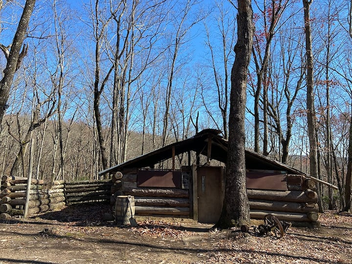 Miners Camp tents spots at Camp Chet