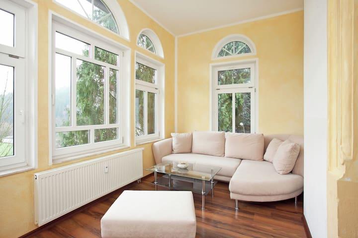 Villa ideal en Borstendorf Alemania con vistas al jardín