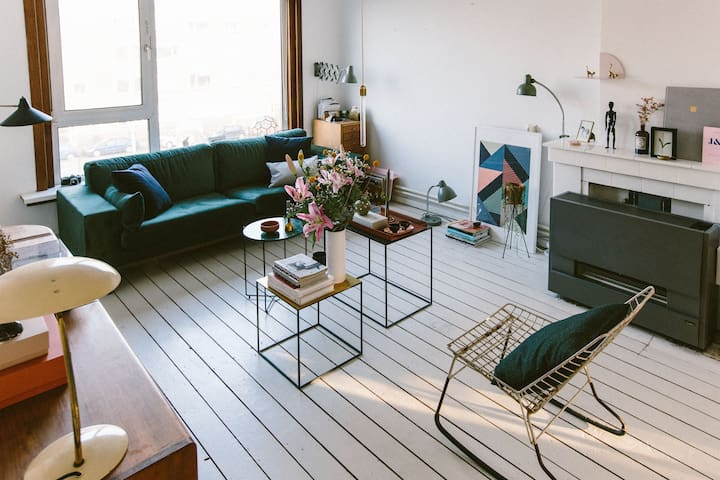 Bright and cosy apartment - Rotterdam - Flat