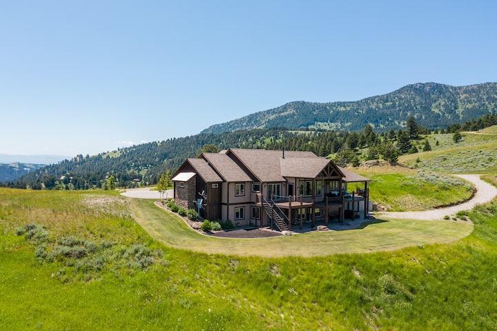 Bridger Summit- Gorgeous home on 16 acres in the Bridger Canyon!