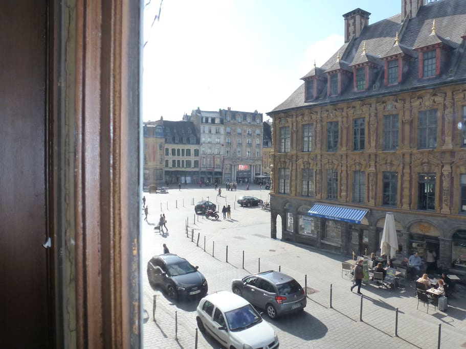Vue grand Place