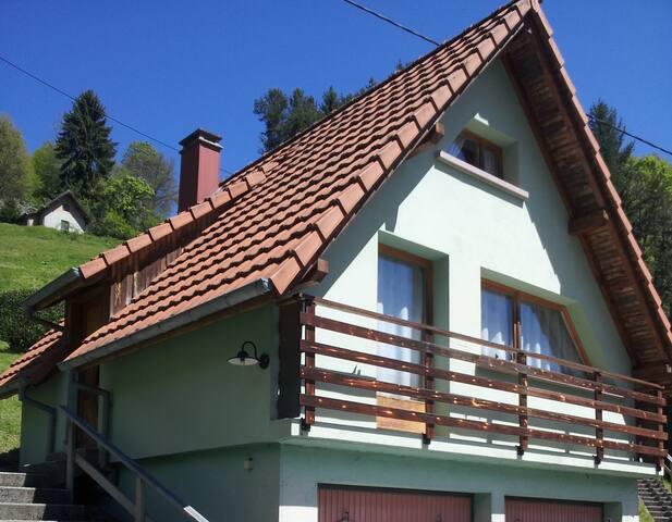 Gîte 2-4 personnes, dans la Vallée de Kaysersberg