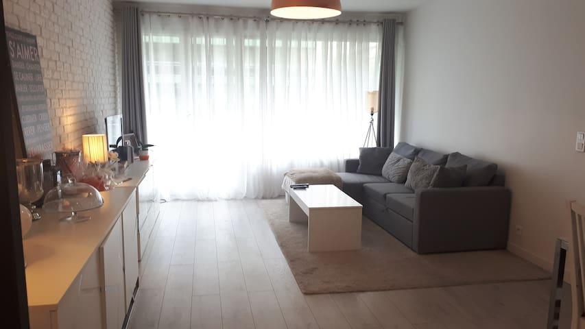 70 m2 au calme à Boulogne Billancourt - 2 chambres