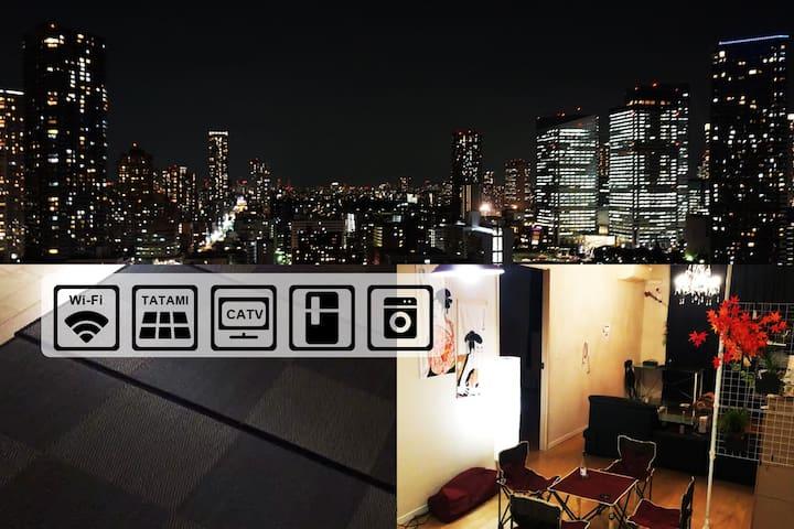 公關☆著名的中部東京,merket☆超高級公寓BLDG