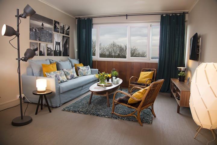 Appartement cosy - ROUEN - PARKING gratuit