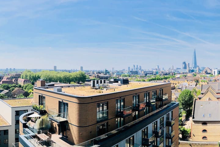 Modern & convenient flat with a view in Wapping