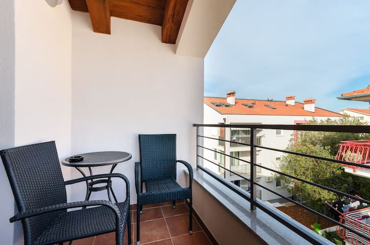 Studio Apartment, in Rovinj, Terrace