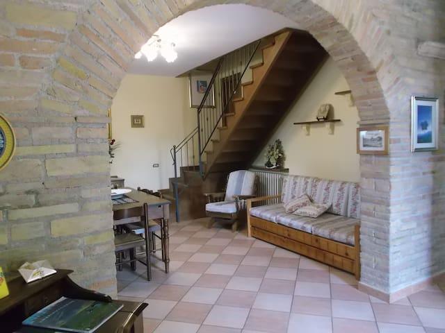 camera con vista castello - Castel San Giovanni - Bed & Breakfast