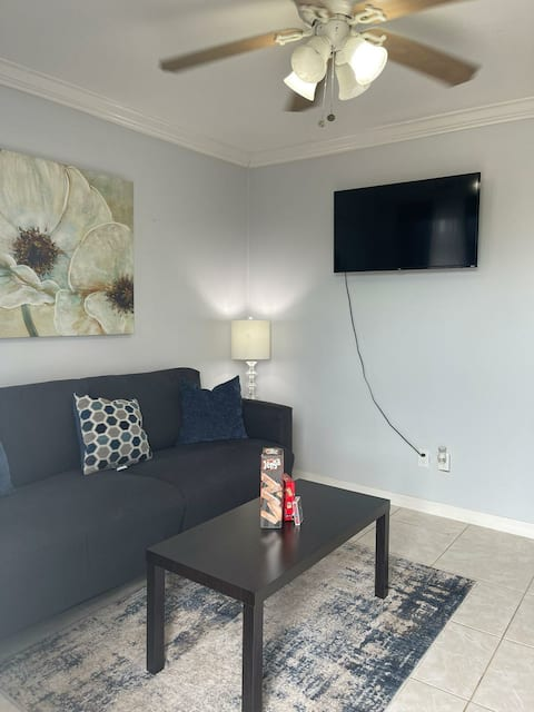 Lovely Spacious - 1 Bedroom Rental - outside grill