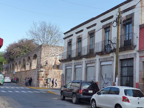 Frente al mercado de Dulces, Santiago tapia 497-1