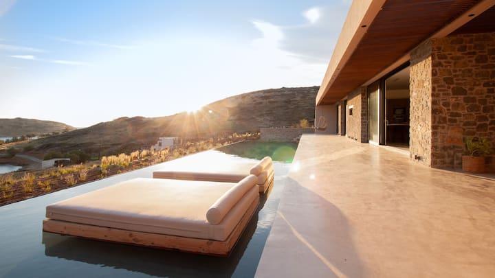 """Nuez Villas"" Ground Level Villa with a Sea View"