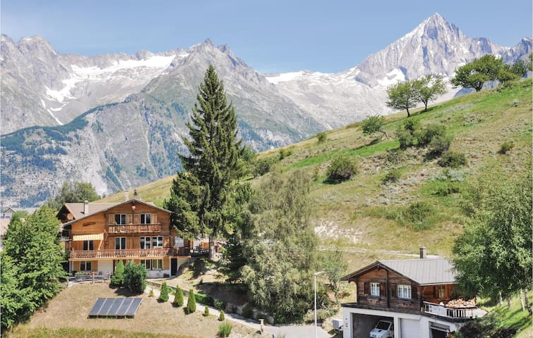 Holiday apartment with 1 room on 18 m² in Bürchen