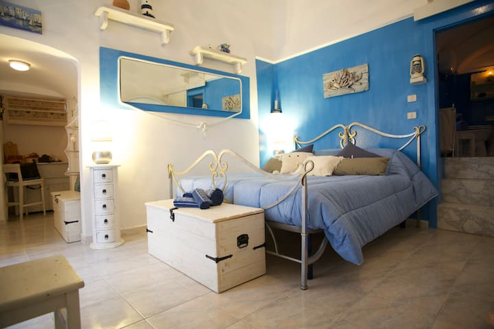 Also in Winter! Romantic BLUE NEST IL NIDO AZZURRO - Vieste - Lejlighed