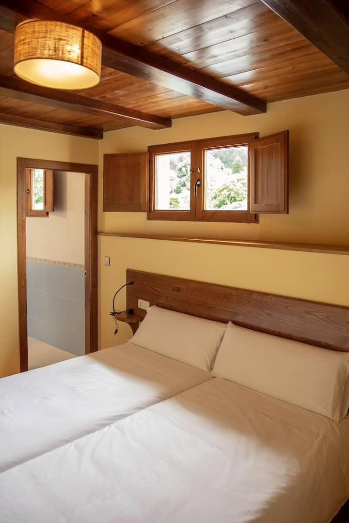 Casa rural Lugar del Río - Hab. 5: Fiuncho