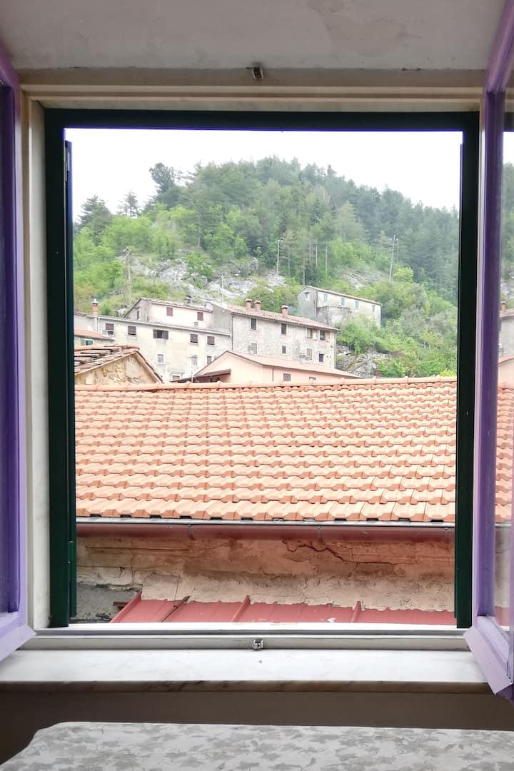 casa accogliente nel cuore delle Alpi Apuane