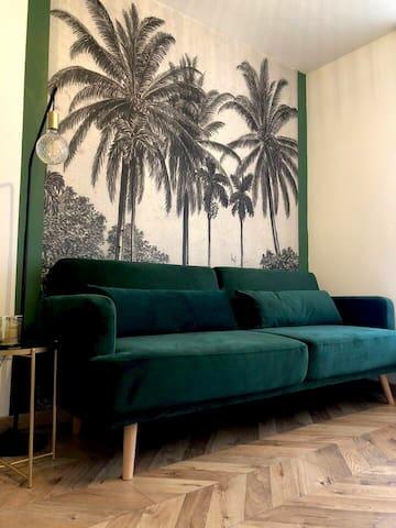 Les Palmiers de Gruissan, T2, Terrasse vue Port !