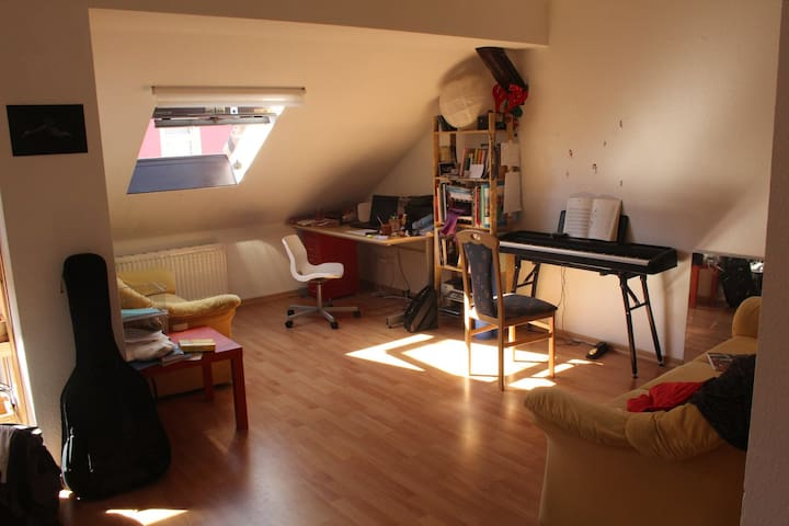 Nice and sunny apartment in Leipzig