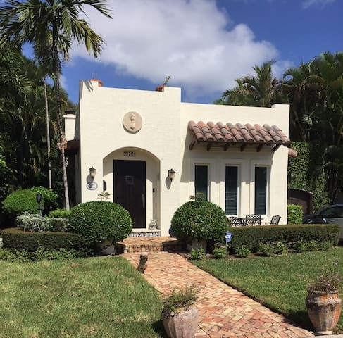 Completely renovated home built in 1920's Mediterranean Revival/Spanish Eclectic style