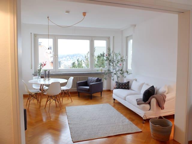 Sonnige Altbauwohnung im Stuttgarter Westen