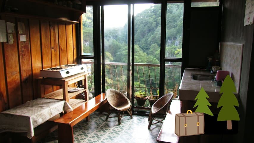 BnB on the Hill, Naughty, But Cheese room - Sagada - Bed & Breakfast