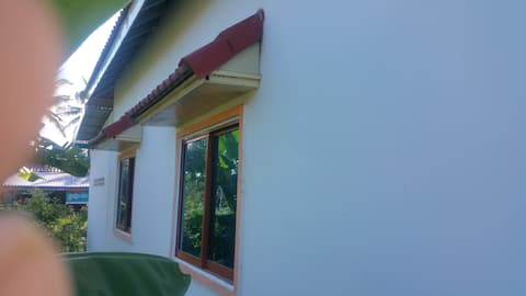 Khmer house with in village 45km from airport